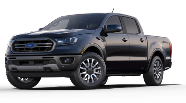 New 2019 Ford Ranger Lariat Truck FHR192456 1FTER4FH6KLA89557 for sale in Hamburg, NY